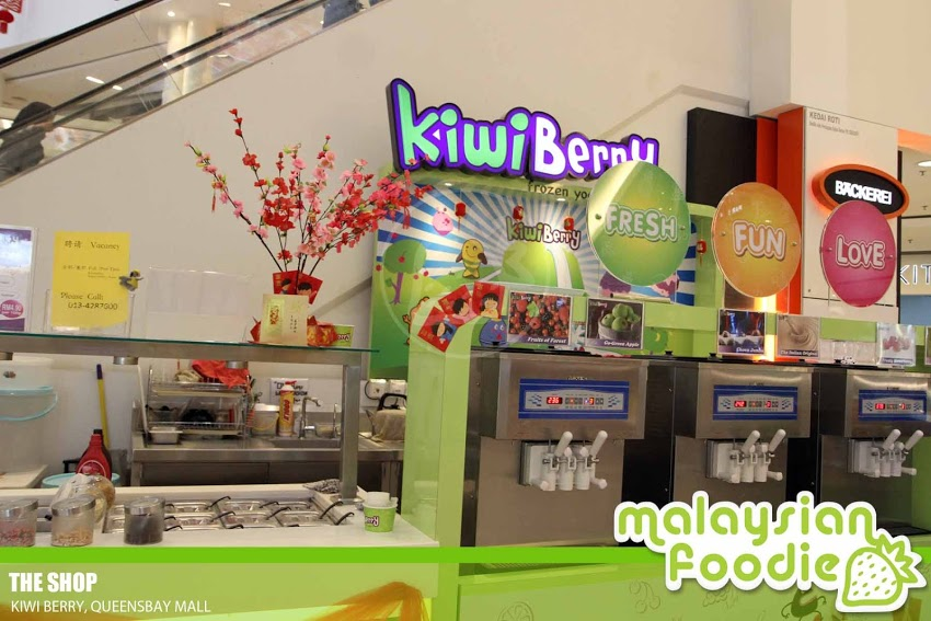 KIWI BERRY, QUEENSBAY MALL
