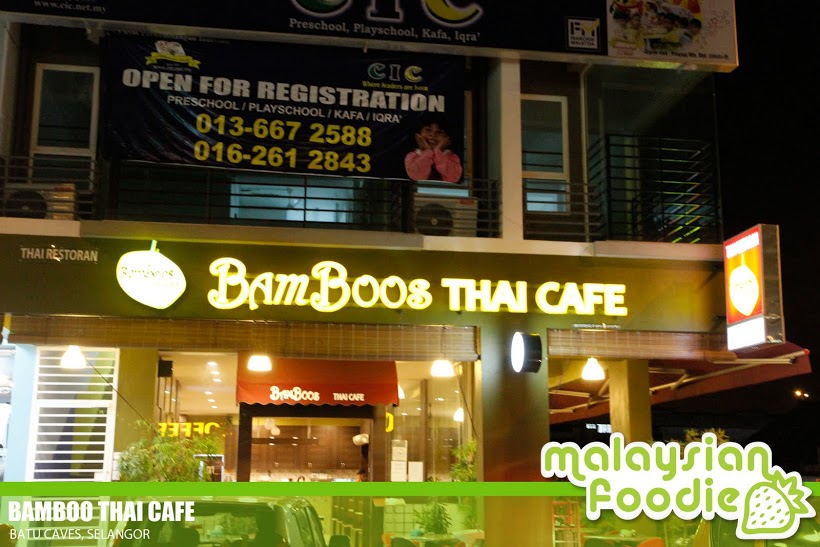 BAMBOO THAI CAFE, SRI GOMBAK