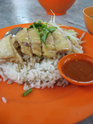 Chicken Rice, Koay Teow Th'ng, Ais Kacang @ Keat Seng, Penang Road , Penang