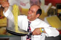 ITALIAN KING OF PASTA AT LEMON GARDEN CAFE, SHANGRI-LA KL