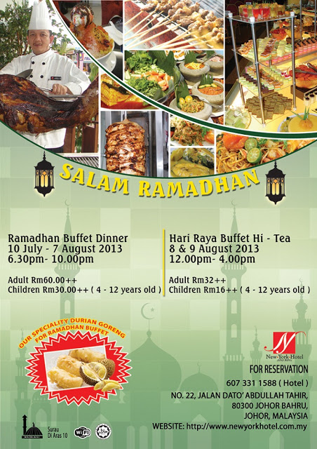 SALAM RAMADHAN AT NEW YORK HOTEL JB