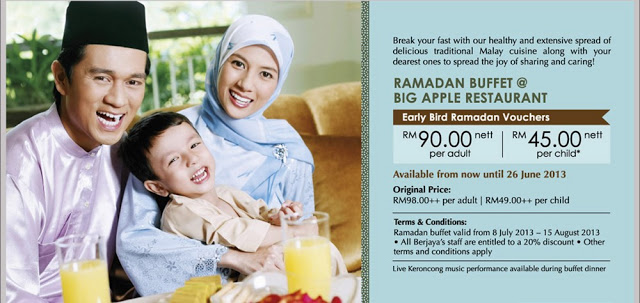 RAMADHAN BUFFET PROMOTION AT BIG APPLE, TIMES SQUARE