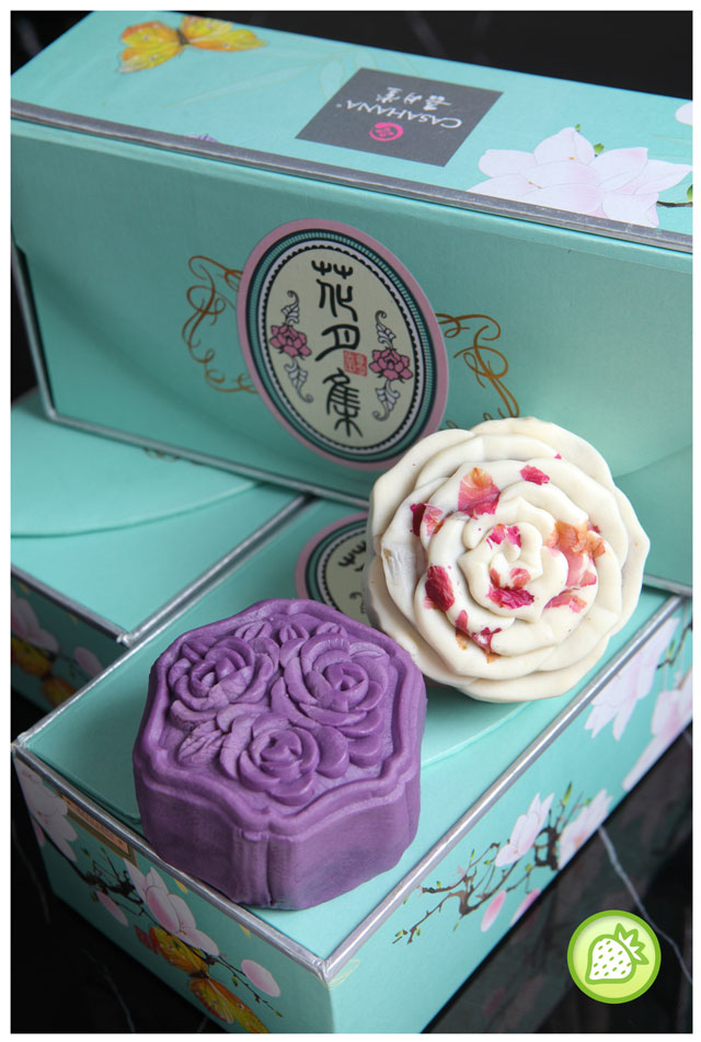 FLOWER ADDICTION MOONCAKE WITH CASAHANA