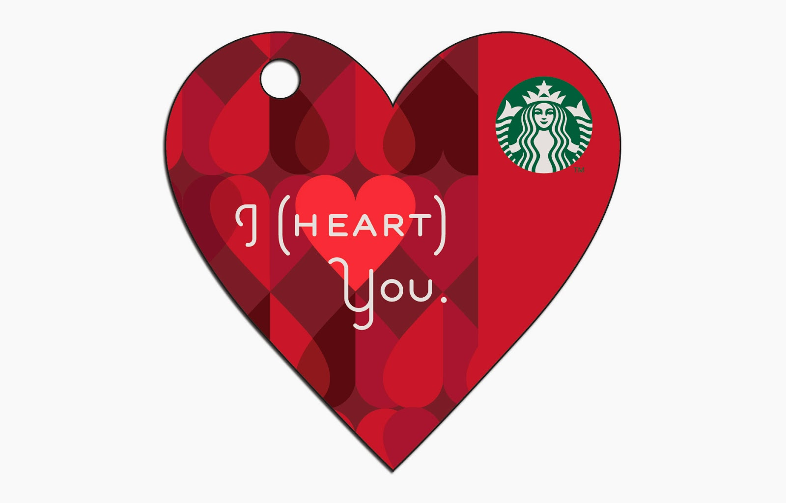 EXPRESS YOUR AFFECTION THIS VALENTINE'S WITH THE LIMITED EDITION VALENTINE'S DAY STARBUCKS® CARD AND MERCHANDISE.