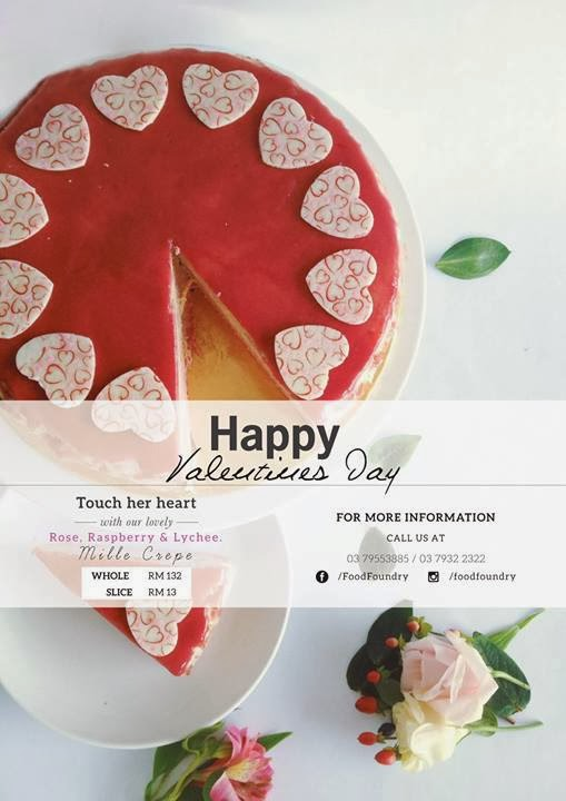 VALENTINE DAY PROMOTION AT FOOD FOUNDRY