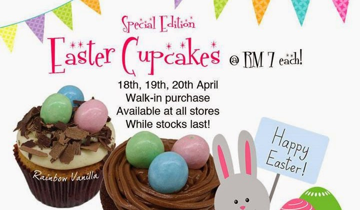 EASTER CUPCAKES FROM TWELVE CUPCAKES