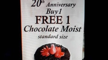20TH ANNIVERSARY BUY 1 FREE 1 AT SUCHAN
