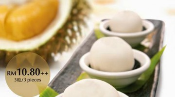 DURIAN MOCHI AT TAI THONG