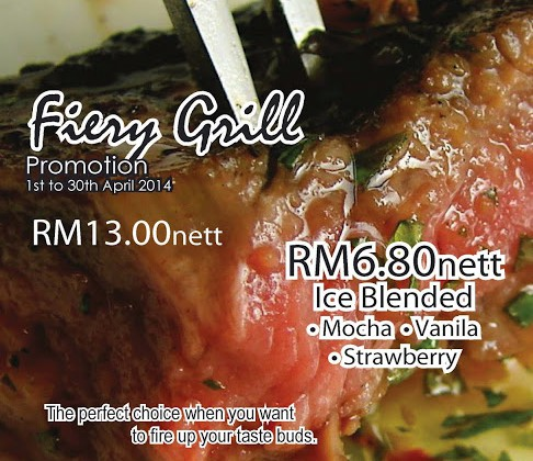 FIERCY GRILL PROMOTION AT GEO CAFE