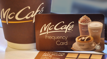 FREE DRINK WITH MCDONALD'S MALAYSIA MC CAFE