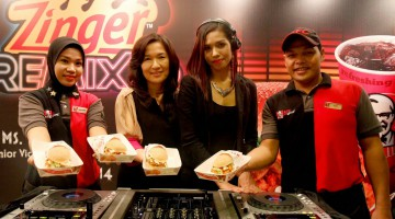 A DELICIOUS REMIX OF FLAVOUR IN KFC'S LATEST ZINGER BURGER