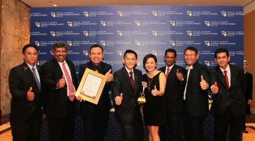 SILKA MAYTOWER HOTEL & SERVICED RESIDENCES BAGS: GOLD ACHIEVEMENT AWARD AT KUALA LUMPUR MAYOR'S TOURISM AWARDS 2014