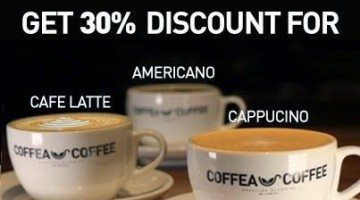 OPENING PROMOTION AT COFFEA COFFEE, THE STRAND