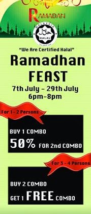 RAMADHAN FEAST AT HOT STAR