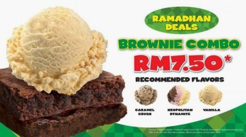 BASKIN ROBBINS RAMADHAN DEALS BROWNIES COMBO RM7.50