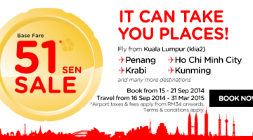 51 SEN FLIGHT TICKET SALE