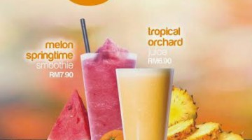 JUICE & SMOOTHIES PROMOTION @ NEW ZEALAND NATURALS