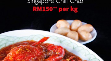 SINGAPORE CHILI CRAB PROMOTION @ HAI SANG LOU, AVANI SEPANG GOLDCOAST RESORT