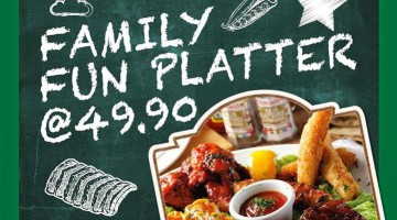 FAMILY FUN PLATTER @ CHICAGO RIB HOUSE
