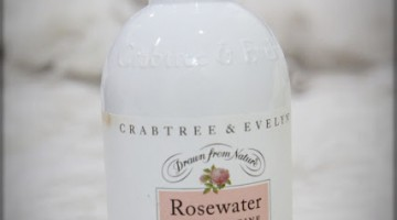 CRABTREE & EVELYN: ROSEWATER HAND & BODY LOTION