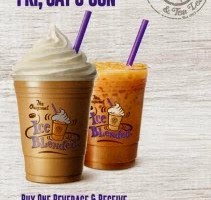 BUY 1 FREE 1 @ COFFEE BEAN