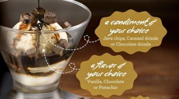 NEW STARBUCKS AFFOGATO: IMPORTED PREMIUM GELATO & COFFEE