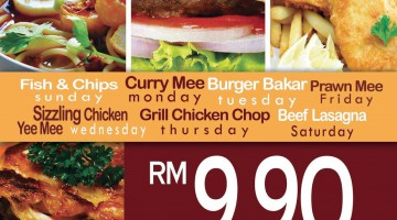 CHEF DAILY PRIORITY DEALS @ D' BRASSERIE