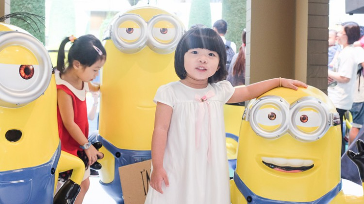 THE MINIONS CRAZE IS BACK & INVADES IN MID VALLEY MEGAMALL