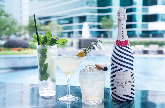 TOAST THE SUMMER SUN WITH CHANDON BRUT @ JW MARRIOTT HOTEL HONG KONG