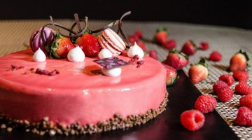 """STRAWBERRY CONCERTO"" WEEKEND AFTERNOON TEA BUFFET PRESENTS  AN AROMATIC MELODY OF STRAWBERRY DESSERTS AND DELICACIES"