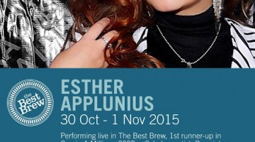 ESTHER APPLUNIS LIVE @ THE BEST BREW, FOUR POINTS BY SHERATON SANDAKAN