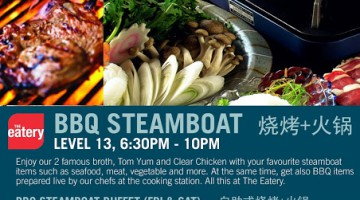 BBQ STEAMBOAT PROMOTION @ FOUR POINTS BY SHERATON SANDAKAN
