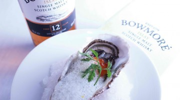 LOBSTER BAR AND GRILL PRESENTS LIMITED-EDITION BOWMORE MIZUNARA CASK FINISH  WHISKY