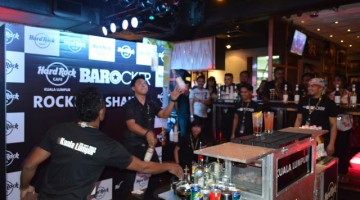 KUALA LUMPUR AND MELAKA'S BARTENDERS BATTLE FOR A CHANCE  TO BECOME HARD ROCK'S 2015 GLOBAL BAROCKER CHAMPION