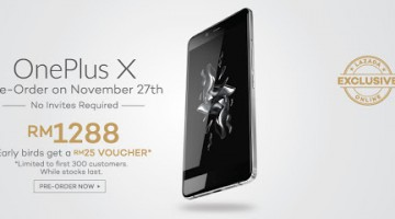 PRESENTING THE ONEPLUS X EXCLUSIVELY ON LAZADA IN MALAYSIA