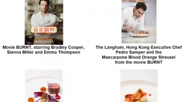 STARRING BRADLEY COOPER, NEW MOVIE BURNT DISHED OUT EXCLUSIVELY AT THE LANGHAM, HONG KONG