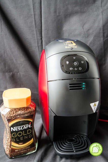 nescafe gold blend barista machine review your home barista anytime malaysian foodie