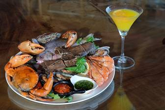 THANK GOD! IT'S SEAFOOD MARTINI FRIDAY