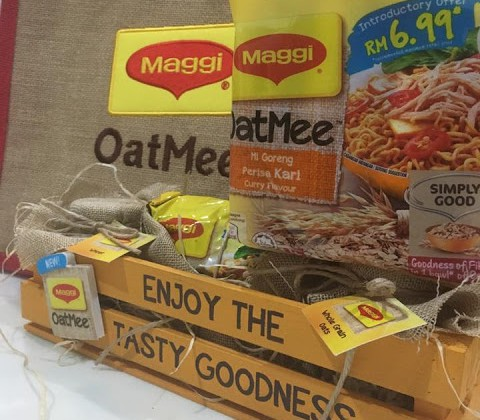 FOR THE FIRST TIME IN MALAYSIA, MAGGI BRINGS YOU #THETASTYGOODNESS OF OAT NOODLES IN A FLAVOUR YOU LOVE!