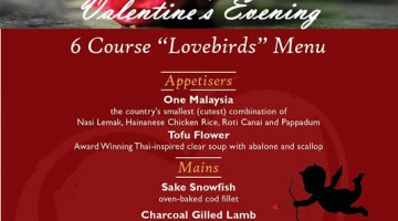 (Valentine 2017) Celebrate Valentine's Evening in RuYi