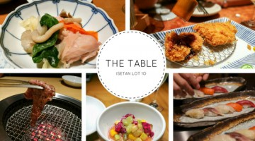 The Table @ Isetan : Savour The Best of Japan here!