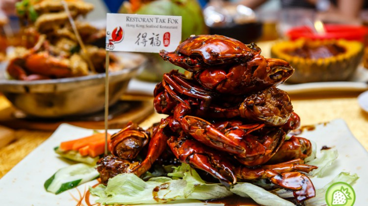 Restaurant Tak Fook Hong Kong Seafood @ Desa Aman Puri : Is all about Crab