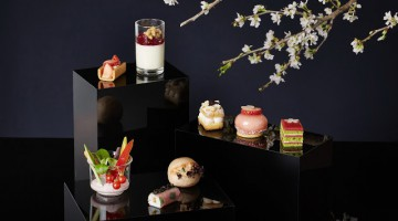 Spring Season in Full Bloom at Café 103 with Sakura Afternoon Tea