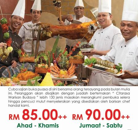 Ramadhan 2017: Bufet Ramadhan Hotel Grand Seasons
