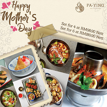 (Mother's Day 2017) Fa Ying Mother's Day Promotion