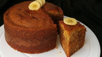 Recipe : Banana Cake with Panasonic Cubie Oven