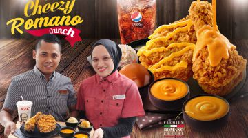 SHARE A 'CHEEZY' MOMENT WITH NEW ITALIAN CHEESE INDULGENCE AT KFC