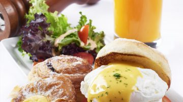 NEW BREAKFAST SURPRISE – POACHED EGG BENEDICT SET @ CONCORDE KL