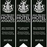 Renaissance Harbour View Hotel Hong Kong Is Proud To Be Awarded Hong Kong's 2017-2018 Best Convention Hotel And Best Large Hotel By The International Hotel Awards