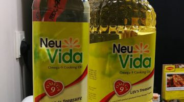 NeuVida Cooking Oil – The right kind of Cooking Oil for your family